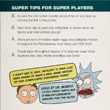 Rickstaverse tips