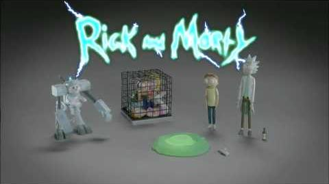 Rick and Morty Season 2 Fake Toy Commercial Promo Adult Swim HD 1080p