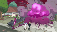 S3e1 garage explodes