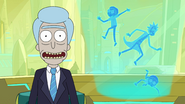 S3e7 falling rick and morty