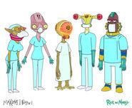 Alien doctors design