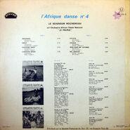 L'Afrique Danse, No. 4, back