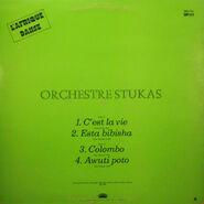 Orchestre Stukas, back