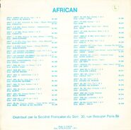 African 91262 CB 1000