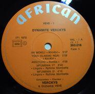 Dynamite Veckys, label