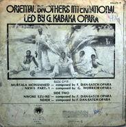Oriental Brothers DWAPS71 back