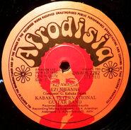 Afrodisia, Kabaka Int. Guitar Band, label