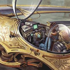 JMartin Cockpit Concept by Jim Martin