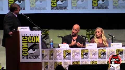 Riddick panel SDCC 2013
