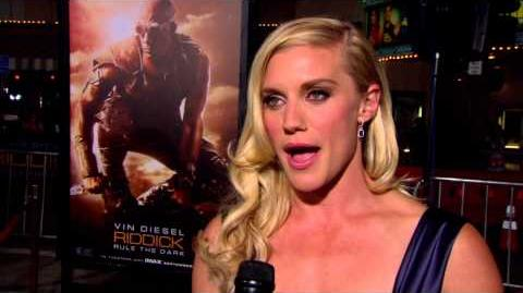 Riddick Katee Sackhoff World Premiere Interview