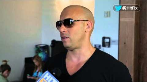Comic-Con 2013 - Riddick - Vin Diesel Interview