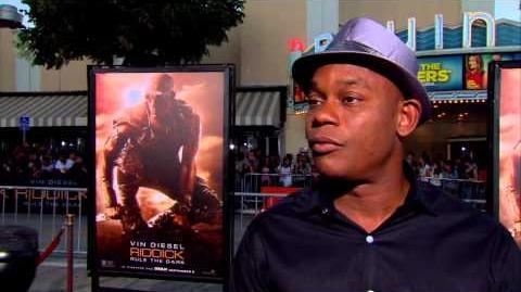 Riddick Bokeem Woodbine World Premiere Interview