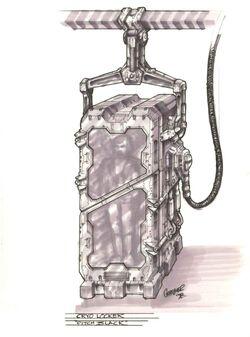Cryo Locker Concept