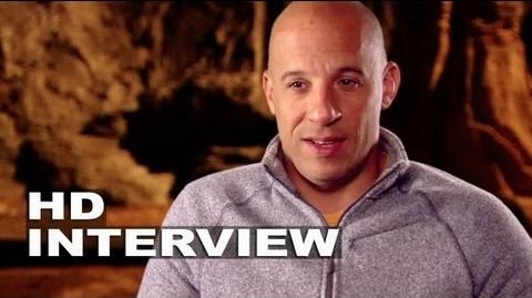 "Riddick Vin Diesel ""Riddick"" On Set Interview"