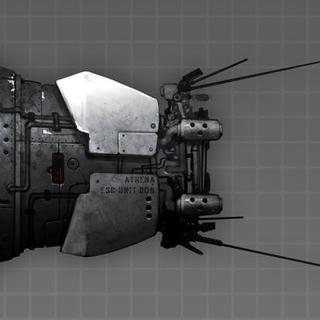 Dark Athena Escape Pod