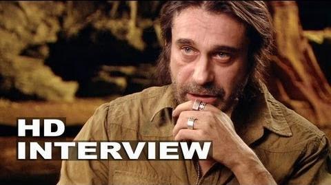 "Riddick Jordi Molla ""Santana"" On Set Interview"