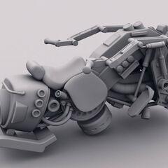 Unfinished Riddick:The Merc Files Jet Hog