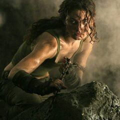 Kyra, after saving Riddick from an attack