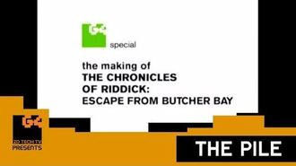 The Making of The Chronicles of Riddick Escape from Butcher Bay - A G4TechTV Special