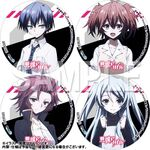 Akuma no Riddle Character Ending Songs Bonus Can Badges