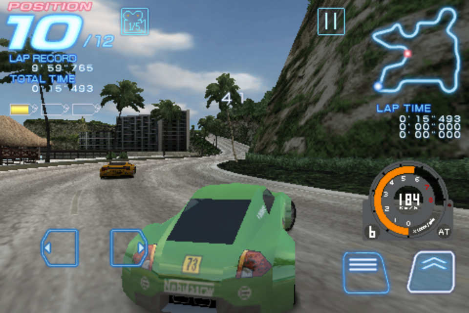 Ridge Racer Accelerated Screenshot-1-