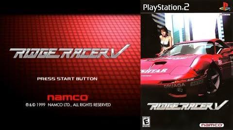 Ridge Racer V (PS2 Intro)