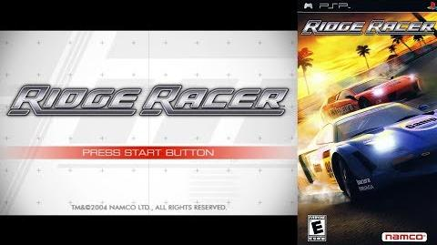Ridge Racer (PSP Intro)