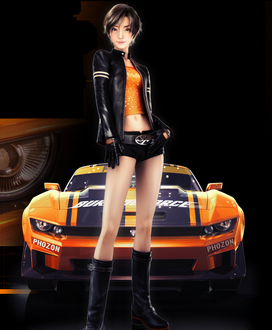 Ridge Racer 3D by Fel1230
