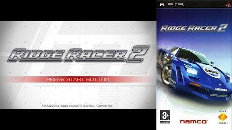Ridge Racer 2 (PSP Intro)