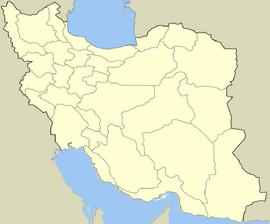 Location map Iran