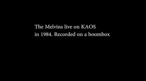 The melvins live in 1985