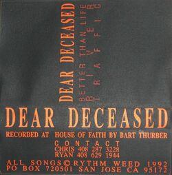 Dear-deceased