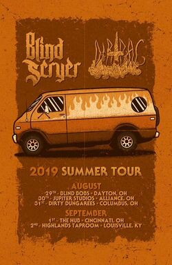 Blind Scryer and Dirtbag 2019 Summer Tour