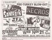 Stardust Ballroom Original Flyer