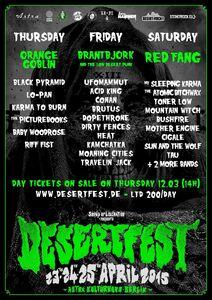 Desertfest Berlin 2015 Poster