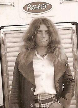 Dickie Peterson 1974
