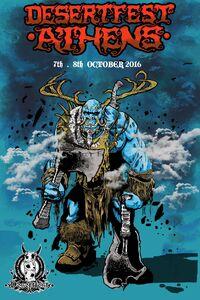Desertfest Athens 2016 Poster
