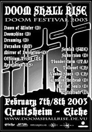 Doom Shall Rise 2003