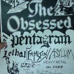 Old Asylum Flyer