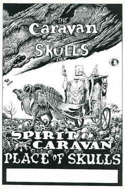 CaravanOfSkulls BW poster