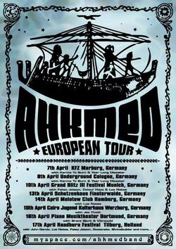 2010 European Tour (Ahkmed)