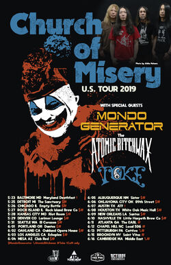 North American Tour 2019 (CoM)
