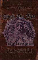 Roadburn 2013 - High on Fire - Thursday