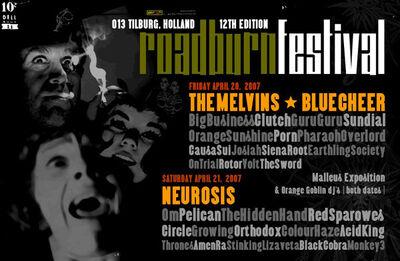 Roadburn 2007 - Main Poster