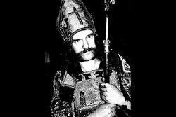 Lemmy as the Pope