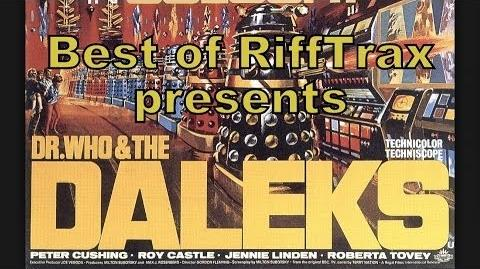 Best of RiffTrax Dr. Who and the Daleks