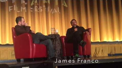 3 23 15 James Franco Clip 3 2015 Atlanta Film Festival Day 4