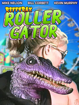 Rollergator Poster