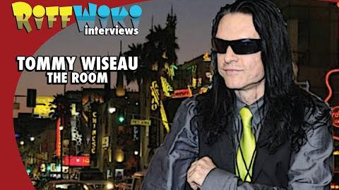 Riffwiki Interviews Tommy Wiseau The Room