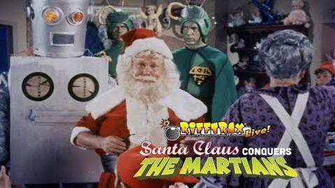 RiffTrax Live Santa Claus Conquers the Martians (Trailer)